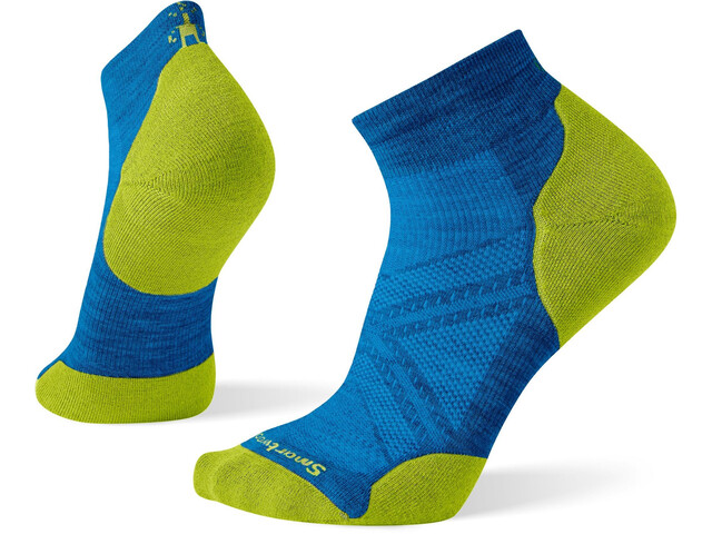 Smartwool PhD Run Light Elite Chaussettes À Coupe Basse, neptune blue